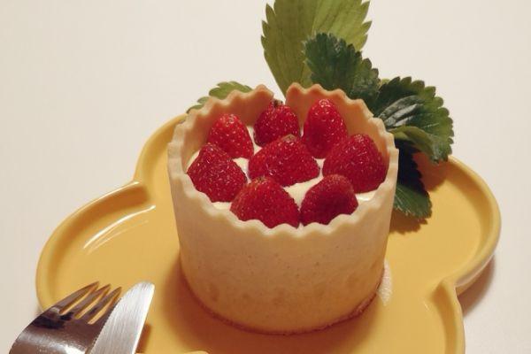 Tarte aux fraises XXL