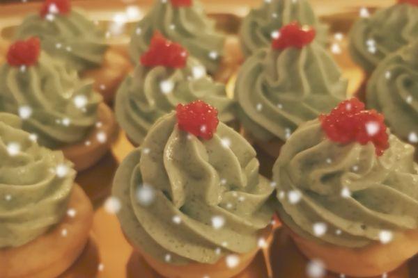 Blinis et tarama de Noël